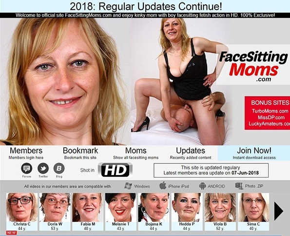 FaceSittingMoms.com - SITERIP