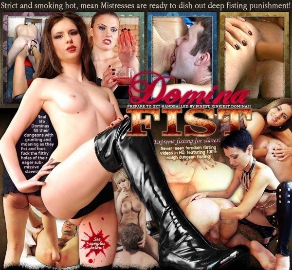 DominaFist.com - SITERIP