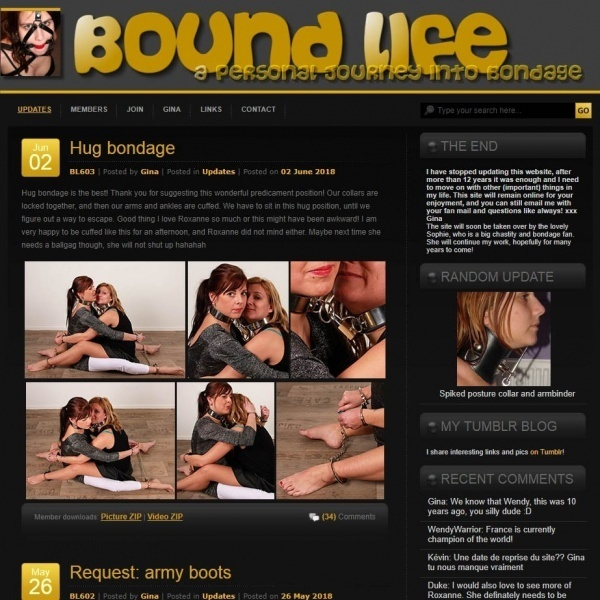 BoundLife.com - SITERIP