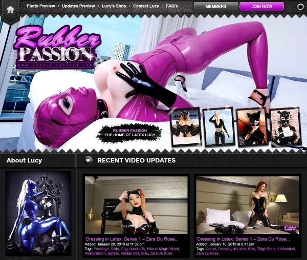 Rubber-Passion.com - SITERIP