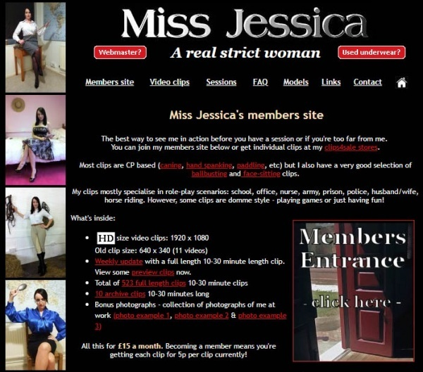 MissJessicaWoodVideos.co.uk - Miss Jessica's Punishments UK - SITERIP