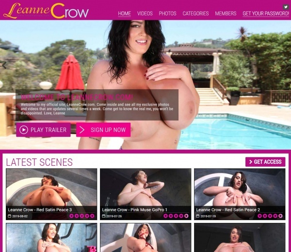 LeanneCrow.com - SITERIP